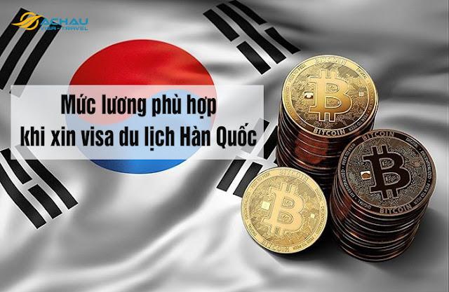 Mức lương dưới 6 triệu có xin được visa du lịch Hàn Quốc không?