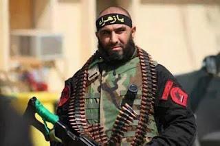 فيديو المقاتل في الحشد الشعبي ابو عزرائيل في تلعفر 2017 - Video of the fighter in the popular crowd Abu Azrael in Tal