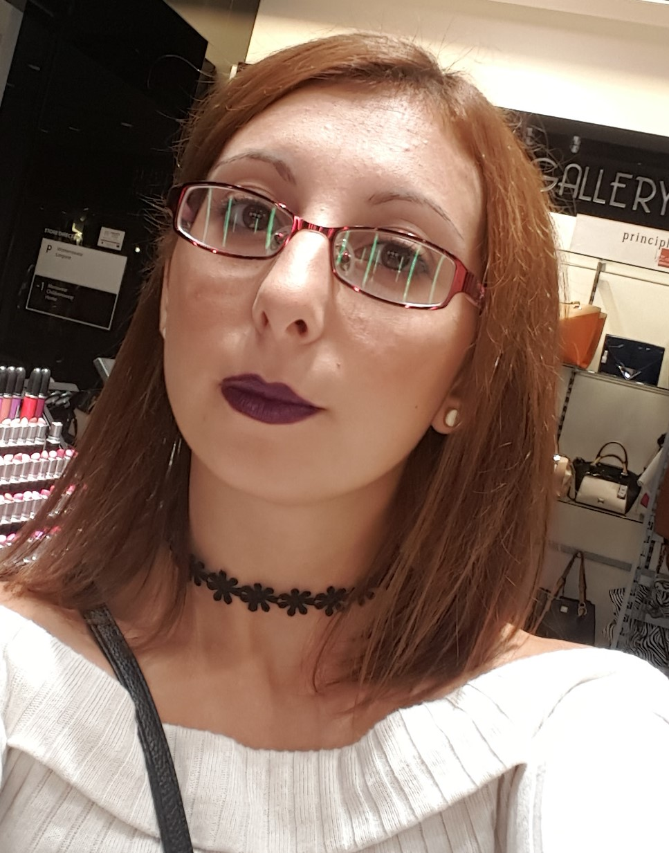 Full download makeup review la prairie dermo caviar anti - Yours Truly Wearing Model Behaviour Lipstick Over Cyber World Lip Liner