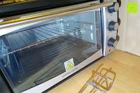 Ofen zu: Andrew James – 23 Liter Mini Ofen und Grill mit 2 Kochplatten in Schwarz – 2900 Watt – 2 Jahre Garantie