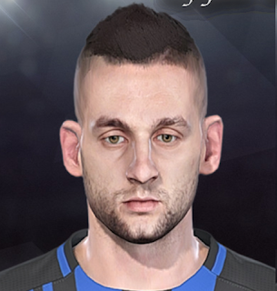 PES 2018 Faces Marcelo Brozović by Sofyan Andri