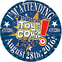 I'm Attending Indiana Toy & Comic Expo Logo