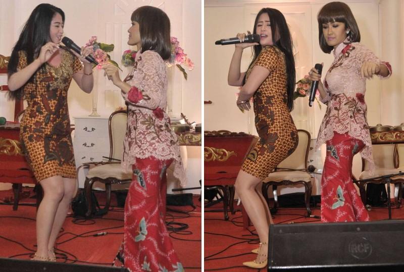 Julia Perez dan Dewi Persik satu panggung
