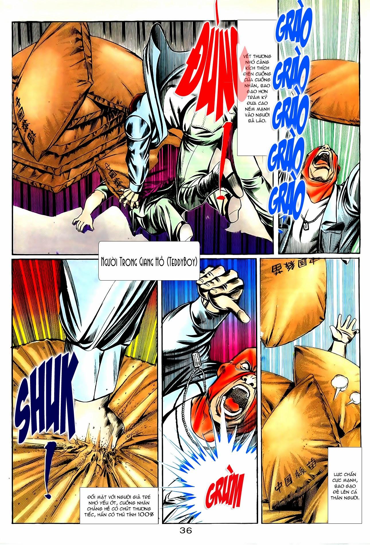 Người Trong Giang Hồ chapter 85: diệt môn trang 9