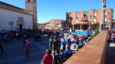 Camino de Cervantes con el grupo escapadillas
