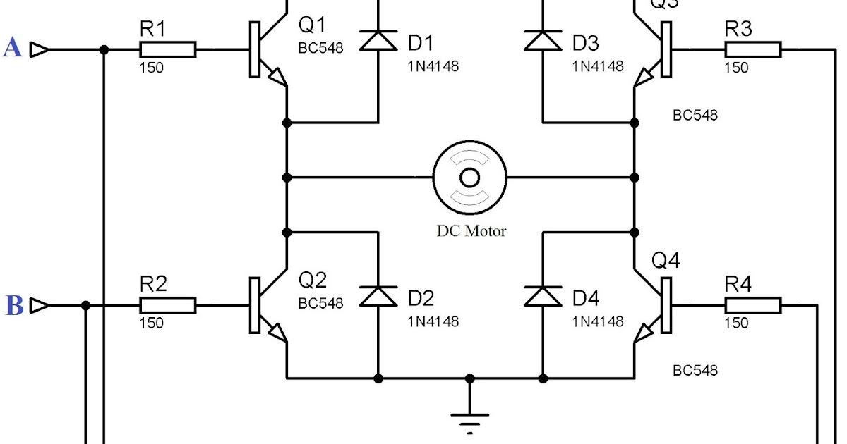 Msp430 dc motor h z ve y n kontrol arduino ve g m l for Dc motor h bridge