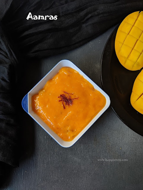 Aamras Recipe | How to make Aamras | Aamras Puri