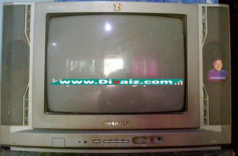 Cara Memperbaiki TV Sharp Warna Rusak