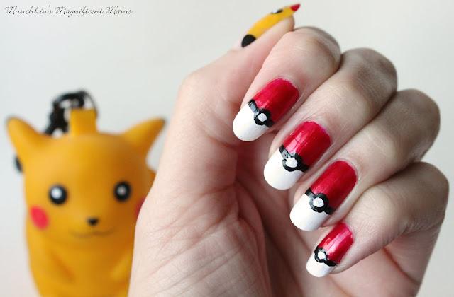 Pokémon Pikachu Nail Design 2015