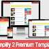 Download Template Simplify 2 Premium Gratis Tanpa Credit Link