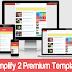 Download Template Simplify 2 Premium Gratis Tanpa Credit Link