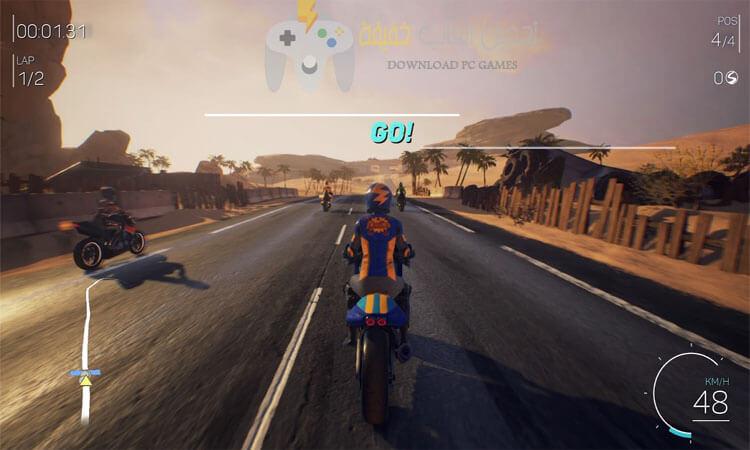 تحميل لعبة MOTO RACER 4 مضغوطة