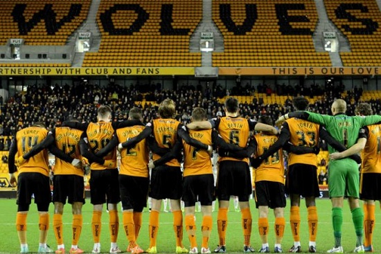 Câu lạc bộ Wolverhampton từng là đội bóng hùng mạnh nhất nhì của nước Anh