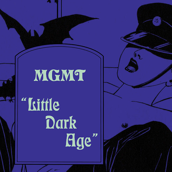 MGMT - Little Dark Age - Single Cover