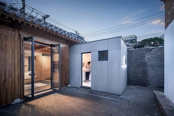 Thiết kế căn nhà gỗ 30m2 ở Bắc Kinh