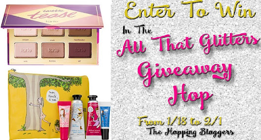 All That Glitters Giveaway Blog Hop! ((GIVEAWAY ENDS FEBRUARY 1 @11:59PM EST))
