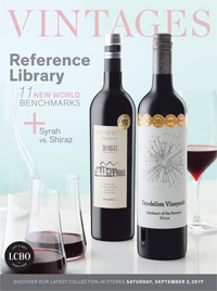 LCBO Wine Picks from September 2, 2017 VINTAGES Release