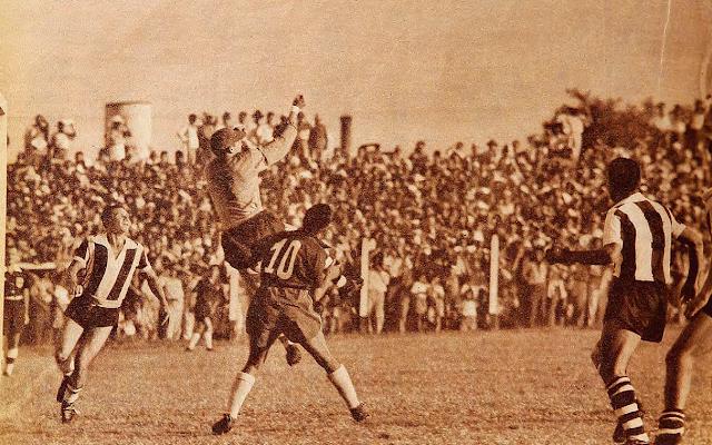 Paraguay y Chile en Clasificatorias a Suiza 1954, 14 de febrero