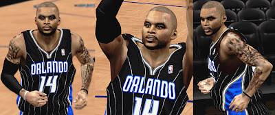 NBA 2K13 Jameer Nelson Cyberface Patches