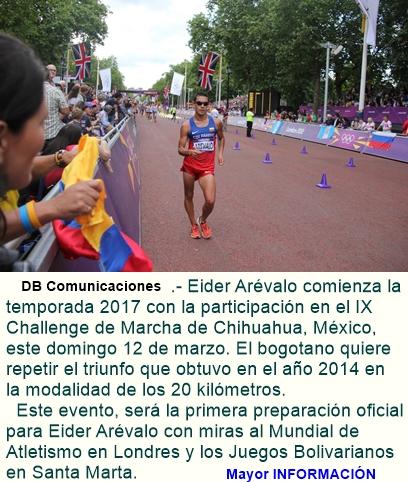 MARCHA: Eider Arévalo va por su segunda victoria en Chihuahua