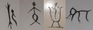 Samples of Oracle Bone script