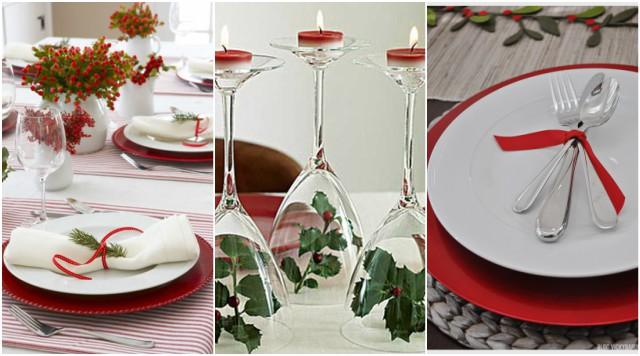 Ukrašavanje božićnog stola