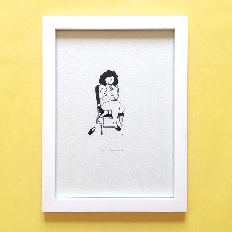 Ilustração da loja Bruna Barros