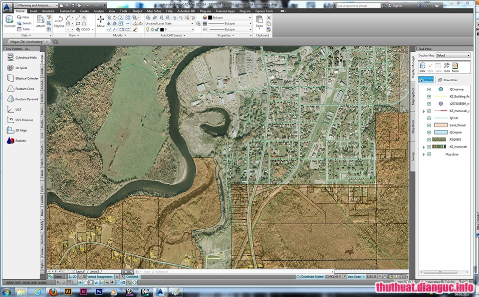 tie-smallDownload Autodesk AutoCAD Map 3D 2019 Full Cr@ck