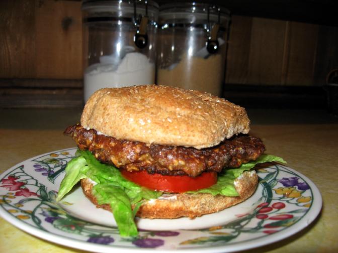 The Potluck Vegetarian Southwestern Veggie Burgers