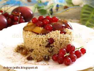 Rýchly kuskus s ovocím - recepty