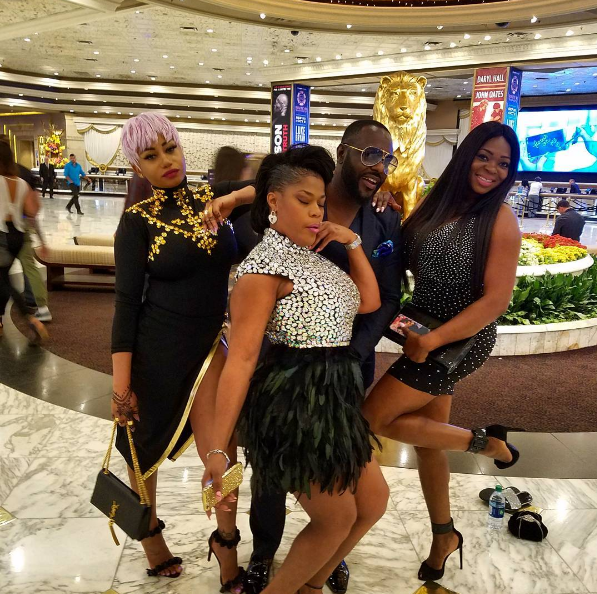jim iyke 40th birthday dinner las vegas