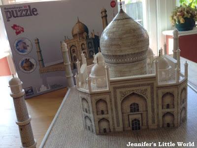 3D Taj Mahal puzzle from Ravensburger