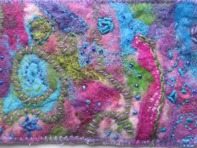 fabric postcards fibercards