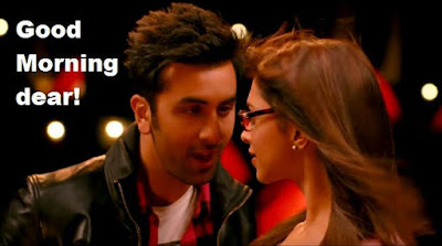 "Romantic Good Morning Images from Bollywood movie ""Ye jawani hai diwani"""