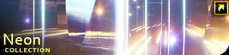 Neon Glowing Stars Tunnel - 23