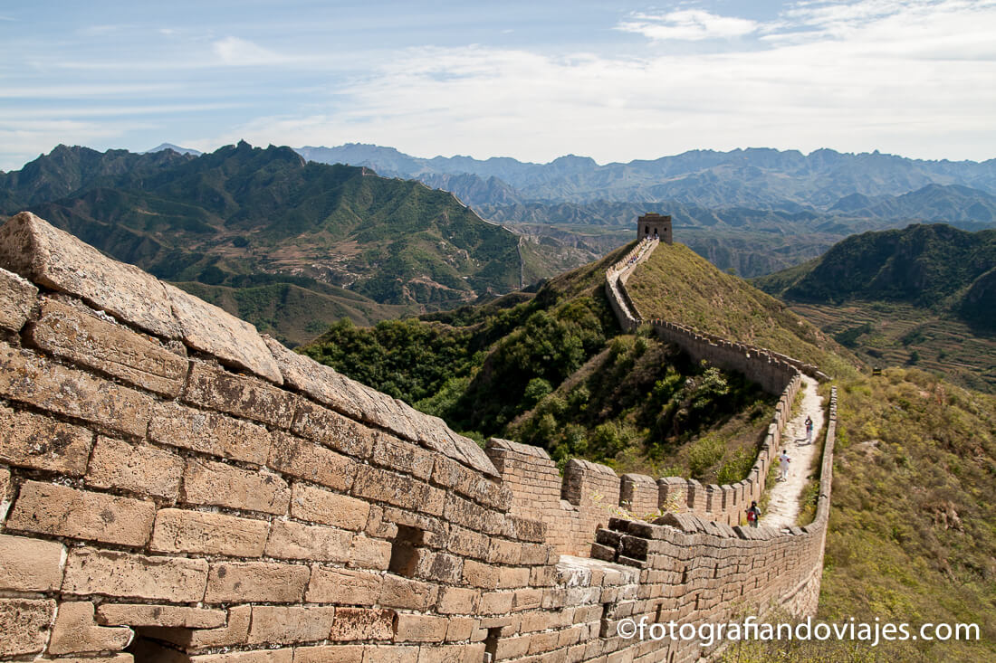 Muralla China Itinerario