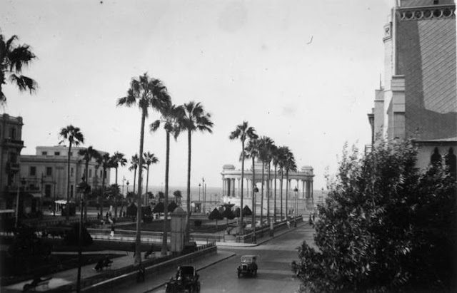 ميدان المنشيه عام 1940  Manshia Square 1940