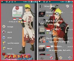 BBM Mod Naruto Shippuden V2.13.1.14 Apk