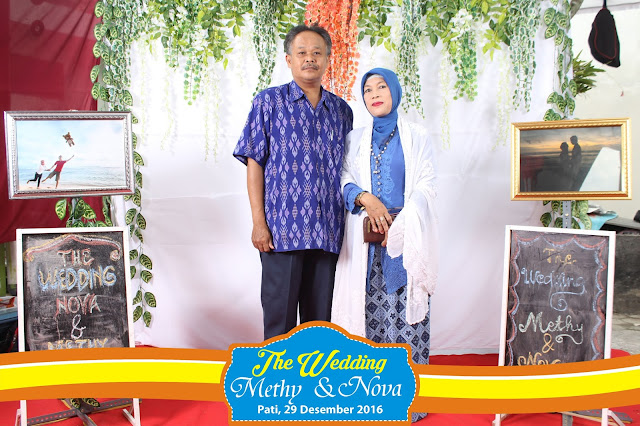+0856-4020-3369; Jasa Photobooth Pati ~Wedding Methy & Nova~