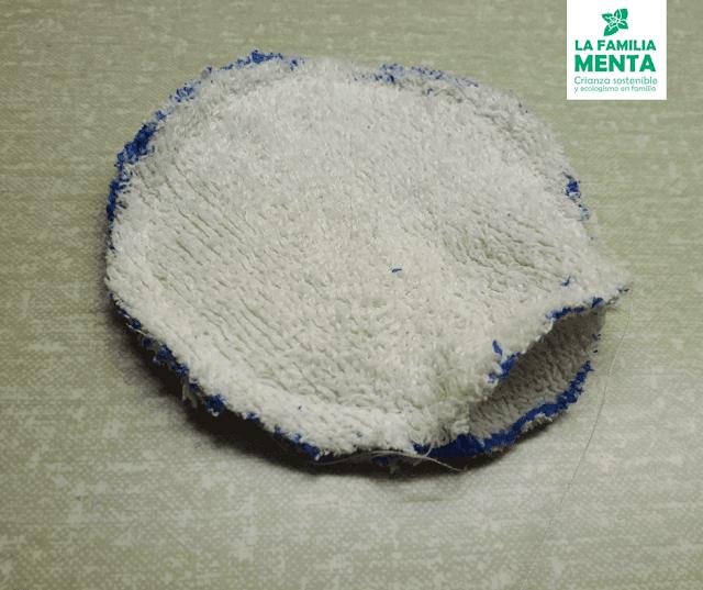 Actividad para peques: Discos de algodón reutilizables