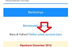 # Cara Membuat Email Yahoo Lewat HP Android (Lengkap Gambar) #