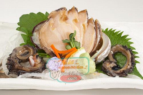 ăn sống bào ngư nhậu lai rai