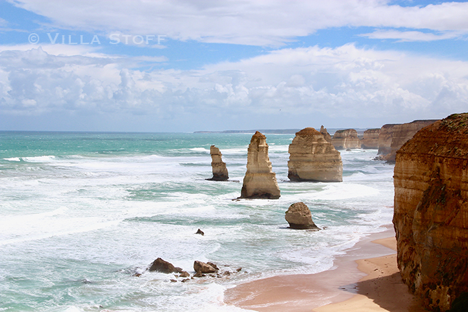 Twelve Apostel, Great Ocean Road / Weltreise mit Kind / Reiseblog