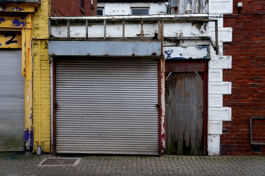nowhere in particular, urban photography, decay, town, shop closures, photo, contemporary,
