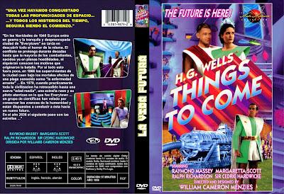 Cover, dvd, carátula: La vida futura | 1936 | Things to Come