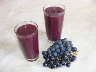 smoothie de struguri, suc de fructe natural, bauturi energizante, sanatate, retete, reteta, nutritie, diete, cure, constipatie, diuretic, leac,