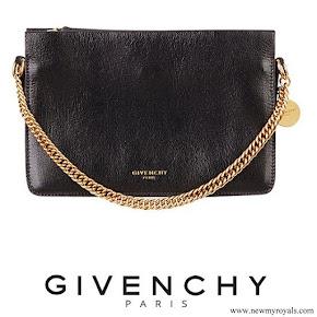 Meghan Markle carried GIVENCHY Leather Crossbody Bag