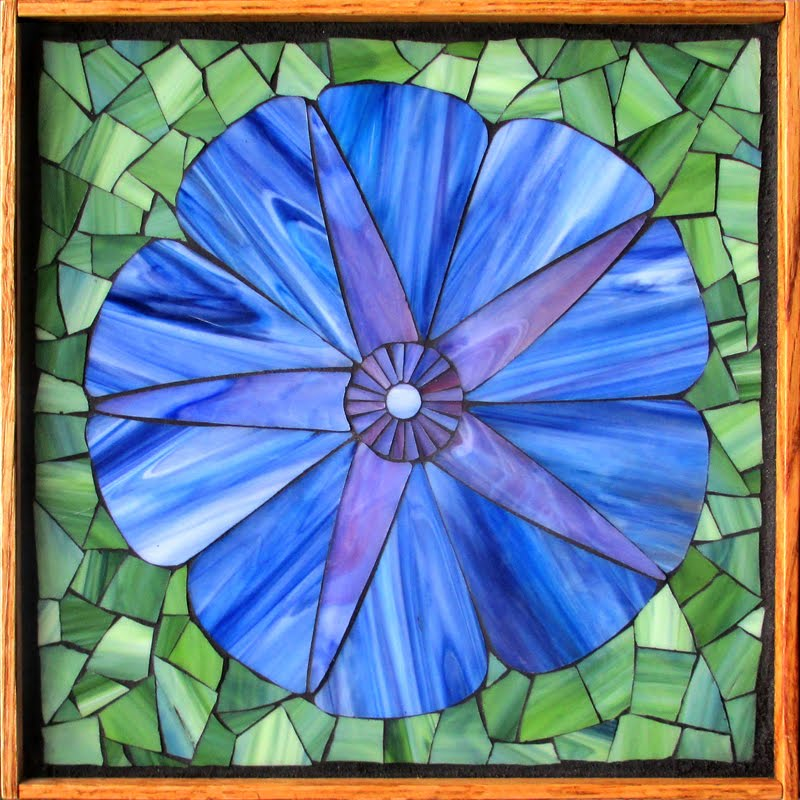 Morning Glory Mosaic