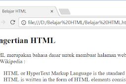 Cara Membuat Kutipan Dalam HTML Dengan Tag blockquote dan Tag q