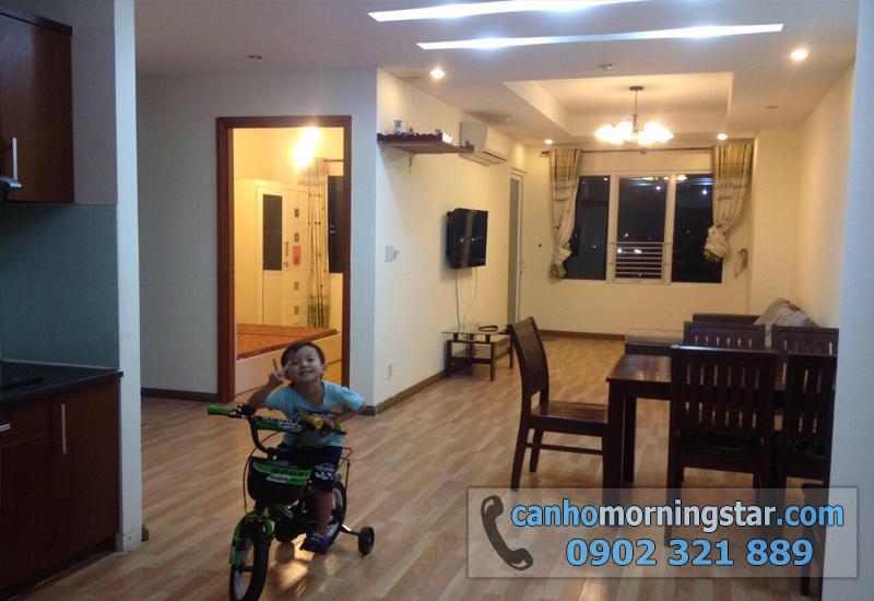 cho thuê căn hộ Morning Star quận Bình Thạnh 3PN